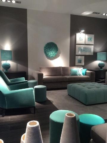 modelos de salas pintadas de dos colores