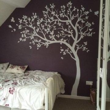 vinilos de arboles para paredes de habitacion
