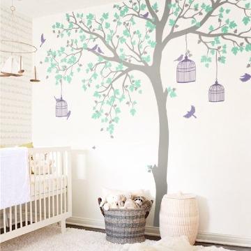 vinilos de arboles para paredes infantiles