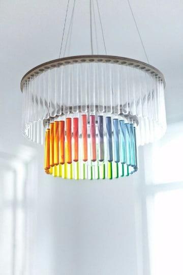 creativas lamparas hechas a mano