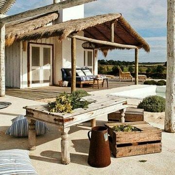 fachadas de casas de playa grandes