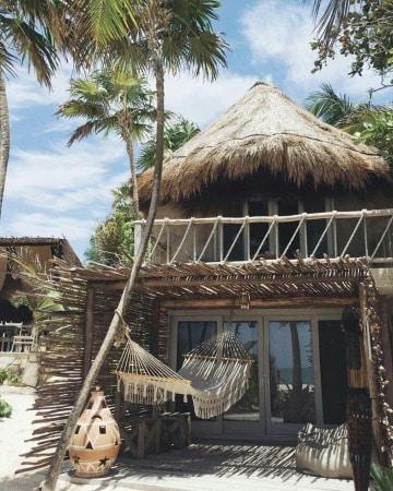 fachadas de casas de playa hermosas