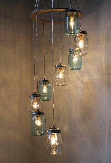 ideas para lamparas hechas a mano