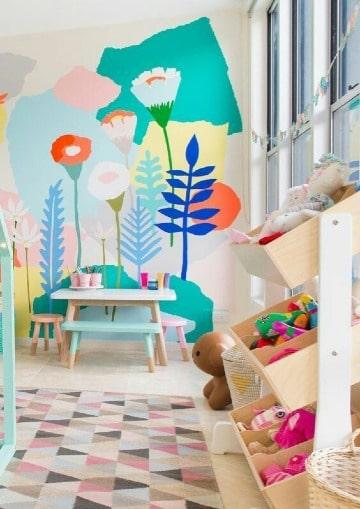 ideas para murales infantiles para pared