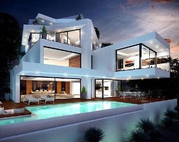 imagenes de casas con alberca lujosas