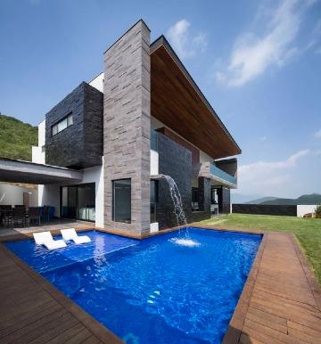 imagenes de casas con alberca modernas