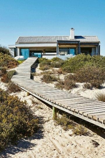 imagenes de casas en la playa grandes