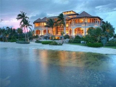 imagenes de casas en la playa hermosas