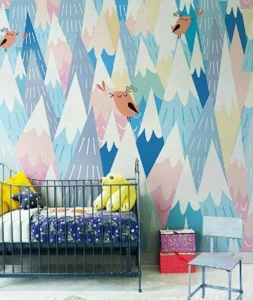 imagenes de murales infantiles para pared