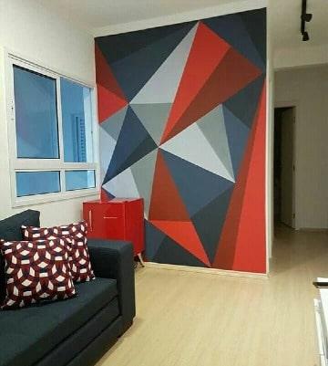 imagenes de paredes decoradas con pintura