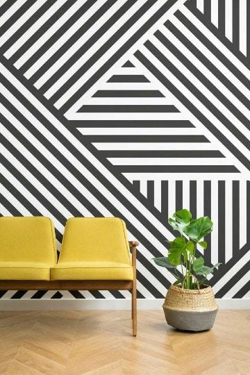 imagenes de paredes decoradas con vinilos