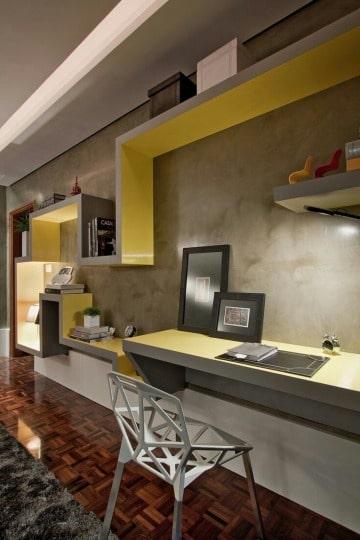 muebles para estudio en casa modernos