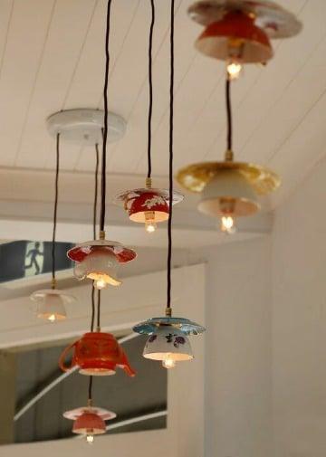 originales lamparas hechas a mano