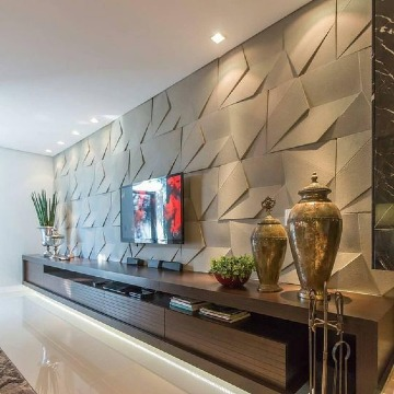 paredes decoradas para salas modernas