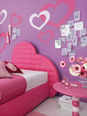 adornos para cuartos de niñas murales faciles