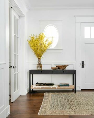 adornos para entradas de casa minimalista