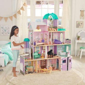 casas de muñecas para jugar con barbie