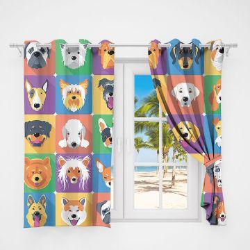 cortinas para cuartos de niños de animales
