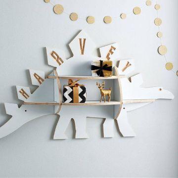 creativas repisas de madera para juguetes