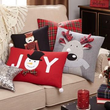 imagenes de cojines navideños decorativos
