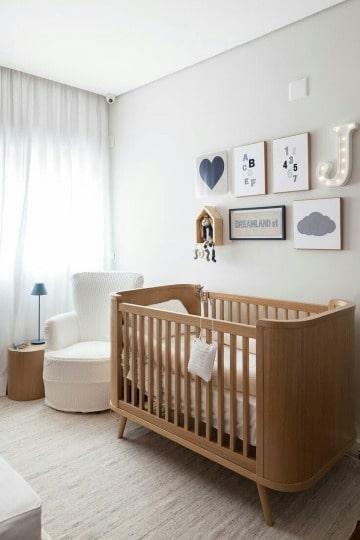 imagenes de cunas de madera para bebe