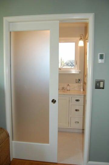 imagenes de diseños de puertas para baño