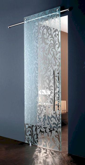 puertas corredizas para interiores de vidrio