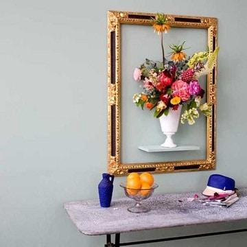 arreglos florales para pared artificiales