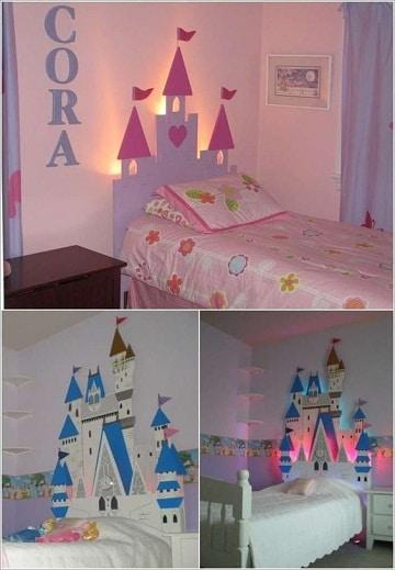 camas de princesas para niñas castillo