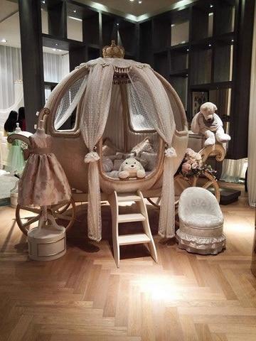 camas de princesas para niñas modernas