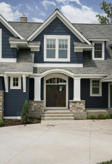 colores de casas por fuera de dos pisos