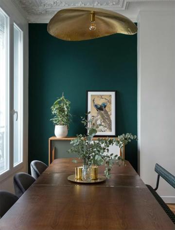 combinación de colores en paredes fuertes