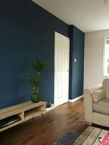 combinación de colores en paredes interiores