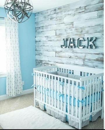 cuartos para bebes varones color celeste