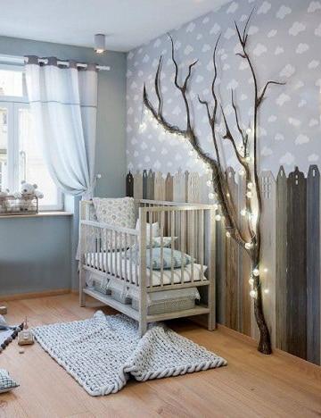Decoracion y colores en cuartos para bebes varones 2019 - Como ...