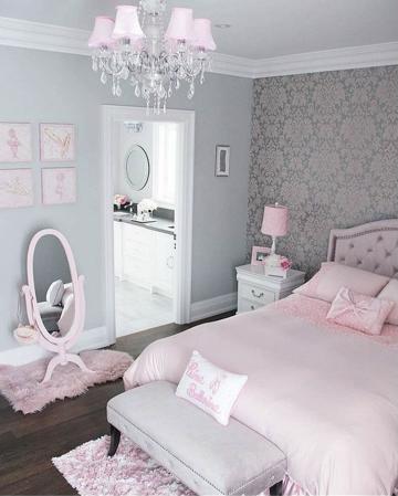 fotos de cuartos para niñas lujosos