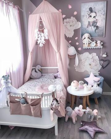 fotos de cuartos para niñas modernos