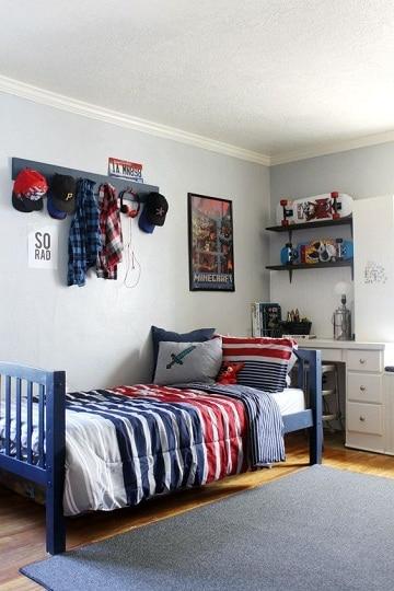 imagenes de camas para niños sencillas