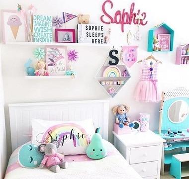 imagenes de habitaciones para niñas decoracion