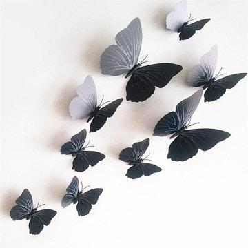 manualidades de mariposas para decorar paredes