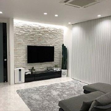 paredes de piedra para salas decoracion