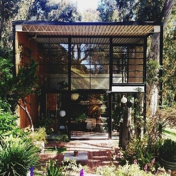 casas japonesas pequeñas de vidrio
