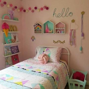 como decorar un cuarto de niña paso a paso
