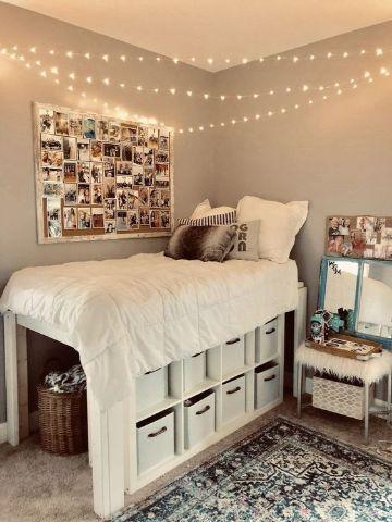 decoracion de cuartos pequeños para mujer