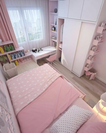 diseños de cuartos pequeños modernos