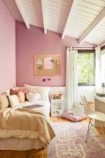 Contrastes y diseños de cuartos pequeños 2019 - Como decorar ...