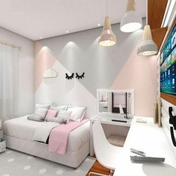 diseños para paredes de cuartos juvenil
