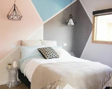 diseños para paredes de cuartos matrimonial