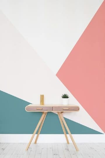 facil decoracion de paredes con pintura