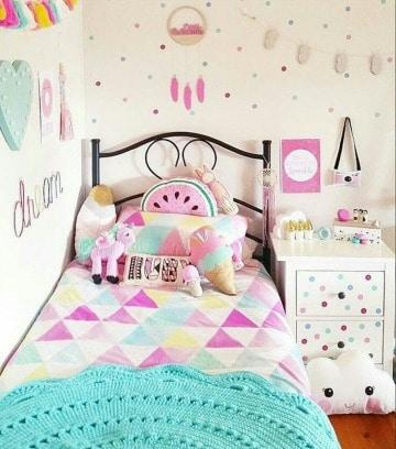 fotos de como decorar un cuarto de niña